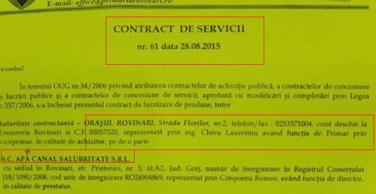 contract chivu 1