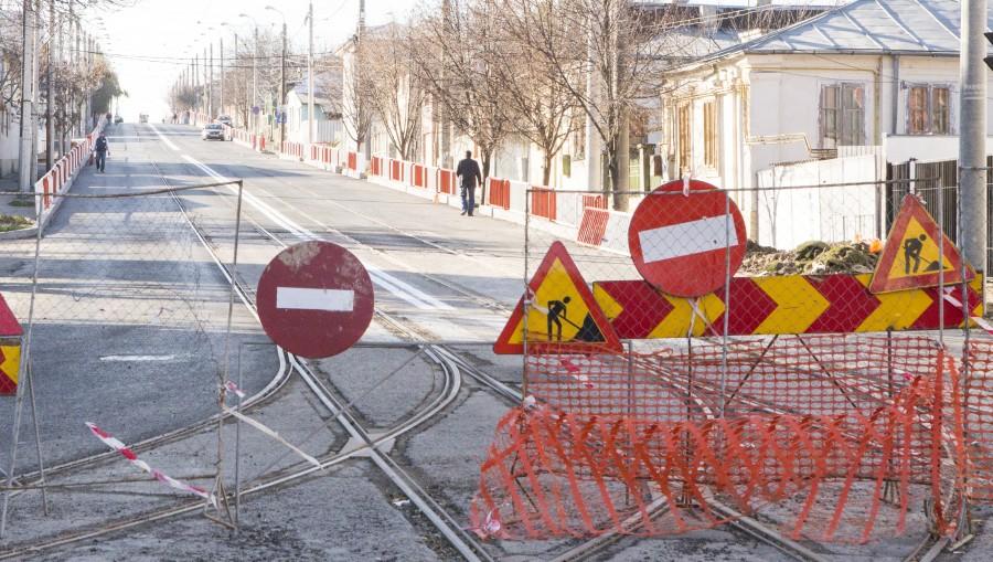lucrari blocate pe strada Basarabiei2